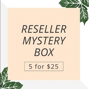 5 for $25 Name Brand Reseller Mystery Box